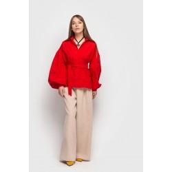 Сорочка Варвара (червона)