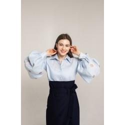 Сорочка Варвара (голуба)