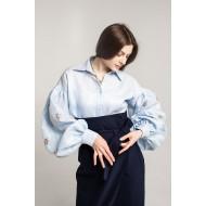 Сорочка Варвара (блакитна)